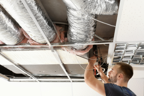 Clear away dust and pollutants in your ducts